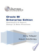 Oracle BI Enterprise Edition Dashboard and Report Best Practices