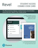 The African american Odyssey Revel Combo Access Card Book PDF
