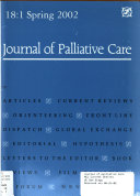 Journal of Palliative Care