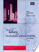 Financial Reform and Economic Development in China