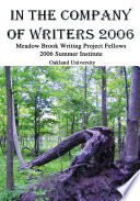 In The Company Of Writers 2006
