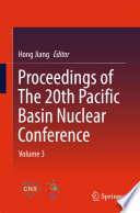 Proceedings of The 20th Pacific Basin Nuclear Conference Book