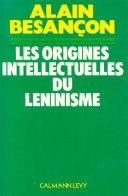 Pdf Les Origines intellectuelles du léninisme Telecharger
