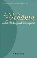 Ved  nta and Its Philosophical Development