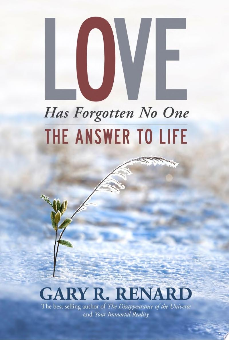 Love Has Forgotten No One poster