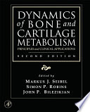 Dynamics of Bone and Cartilage Metabolism Book