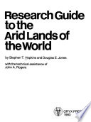 Research Guide to the Arid Lands of the World