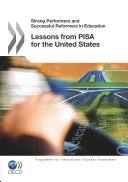 Pdf Strong Performers and Successful Reformers in Education Lessons from PISA for the United States Telecharger
