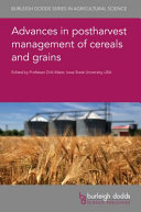 Advances in Postharvest Management of Cereals and Grains Book