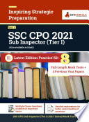 SSC Sub Inspector CPO  Tier I  Vol  1 2021   8 Full Length Mock Test   3 Previous Year Paper  2019