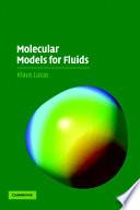 Molecular Models For Fluids Book PDF