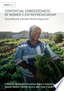 Contextual Embeddedness of Women s Entrepreneurship