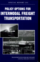 Policy Options for Intermodal Freight Transportation