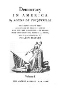 Democracy in America Book