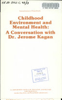 Childhood Environment and Mental Health