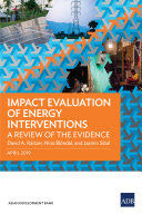 Impact Evaluation of Energy Interventions