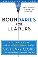 Boundaries for Leaders  Enhanced Edition