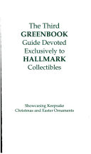 The third Greenbook guide devoted exclusively to Hallmark collectibles