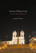 Tennessee Williams and Italy Pdf/ePub eBook
