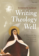 Pdf Writing Theology Well 2nd Edition Telecharger