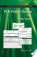 PCR Primer Design Book PDF