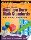 Teaching the Common Core Math Standards with Hands On Activities  Grades 6 8