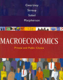 Macroeconomics  Public and Private Choice