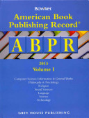 American Book Publishing Record Annual 2 Vol Set