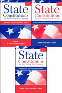Pdf State Constitutions for the Twenty-first Century, Volumes 1, 2 & 3 Telecharger
