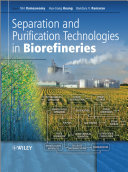 Separation and Purification Technologies in Biorefineries