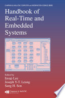 Handbook of Real-Time and Embedded Systems