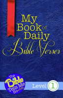My Book Of Daily Bible Verses Level 1