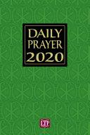 Daily Prayer 2020