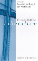 Theological Liberalism Book
