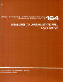 Pdf Measures to Curtail State Fuel Tax Evasion