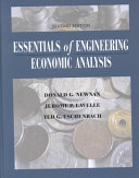 Essentials Of Engineering Economic Analysis Book PDF