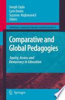 Comparative And Global Pedagogies Book PDF