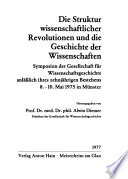 Die Struktur wissenschaftlicher Revolutionen und die Geschichte der Wissenschaften