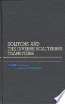 Solitons and the Inverse Scattering Transform