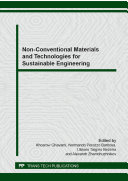 Non-Conventional Materials and Technologies for Sustainable Engineering Pdf/ePub eBook