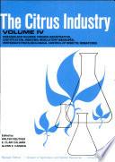 The Citrus Industry  Volume IV