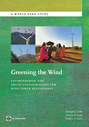 Pdf Greening the Wind Telecharger