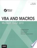 """""""Excel 2013 VBA and Macros: Excel 2013 VBA and Macros _p1"""" by Bill Jelen, Tracy Syrstad"""