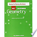 Geometry Review for Mastery Workbook Grades 9-12