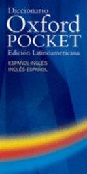 Diccionario Oxford Pocket Edici  n Latinoamericana