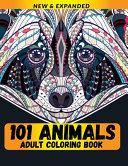101 Animals Adult Coloring Book Book PDF