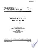Metal forming Techniques