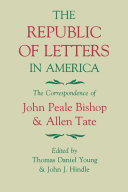 The Republic of Letters in America [Pdf/ePub] eBook