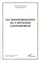 Pdf Les transformations du capitalisme contemporain Telecharger