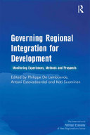 Pdf Governing Regional Integration for Development Telecharger